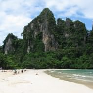 Holidays to Krabi and the Andaman Coast - Krabi's beautiful coastline at Railey Bay