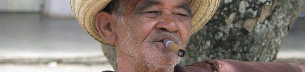 Man in Vinales Valley