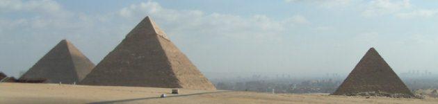 Pyramids at Giza, Cairo