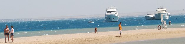 The beaches of Hurghada, Egypt