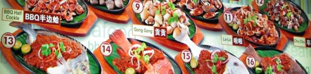 Seafood dining, Singapore