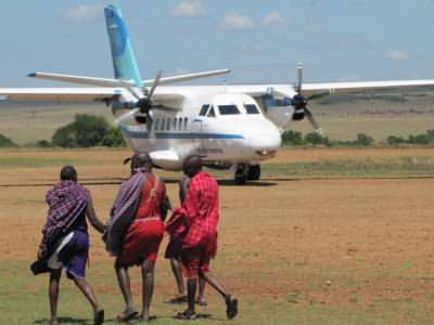 Flying safaris in Kenya