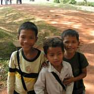 Holidays to Cambodia - Cambodian kids