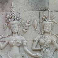 Holidays to Cambodia - Bas reliefs at Angkor Wat