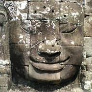 Holidays to Cambodia - Enigmatic faces - The Bayon