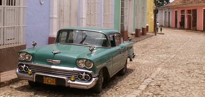 Comprehensive Cuba tour - classic car in Trinidad