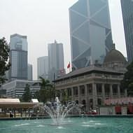 Holidays to Hong Kong - Statue Square, Central Hong Kong