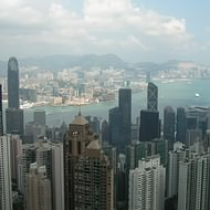 Holidays to Hong Kong - Central Hong Kong & Kowloon from Victoria Peak