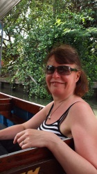 Exploring Bangkok on the canal boats