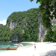 Holidays to Krabi and the Andaman Coast - beautiful Hong Island, close to Krabi