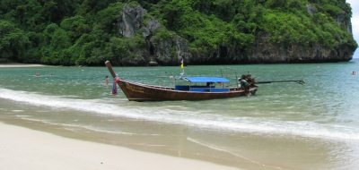 Longtail boat at Krabi, Thailand