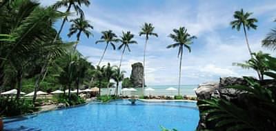 Thailand has some amazing hotels - the Centara Grand Beach Resort, Krabi
