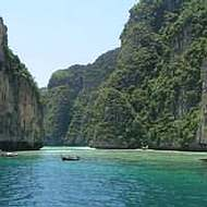 Holidays to Krabi and the Andaman Coast - Limestone scenery in the Andaman Sea