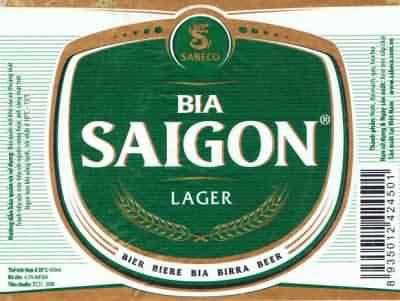Saigon Beer in Hoi An, Vietnam