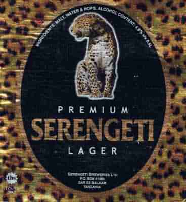 Serengeti Beer at the Sopa Londe on the Serengeti