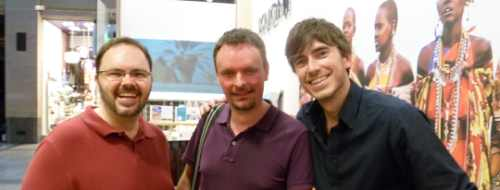 Longhaul holidays from Escape Worldwide - Darren and Mark from Escape Worldwide meet Simon Reeve!