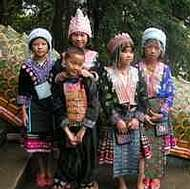Holidays to Chiang Mai and Northern Thailand - Local kids at Wat Suthep temple, Chiang Mai