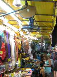 Shopping in Patpong Market, Bangkok