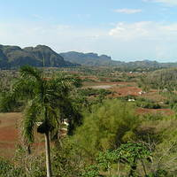 Beautiful scenery at the Vinales Valley
