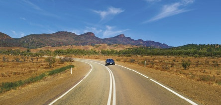 Holidays to Australia with Escape Worldwide - Flinders Ranges (copyright South Australian Tourism Commission)