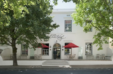 Holiday to the Oude Werf Hotel, Winelands, South Africa