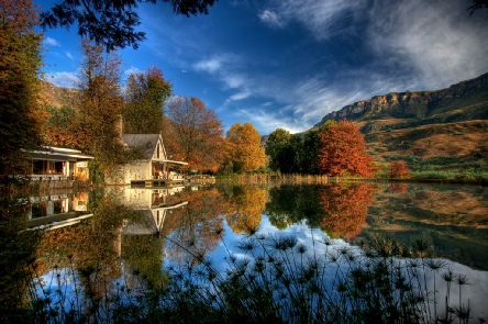 Holiday to the Cleopatra Mountain Farmhouse, Drakensberg South Africa