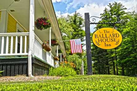 Holidays to the Ballard House Inn, Lake Winnipesauke New Hampshire USA
