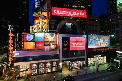 Holidays to the Crowne Plaza Times Square, New York