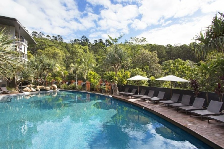 Holidays to the Peppers Noosa Resort Sunshine Coast Australia